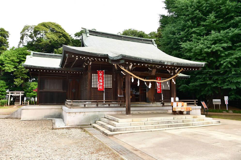峯ヶ岡八幡神社拝殿