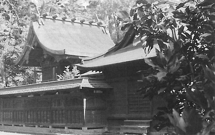旧峯ヶ岡八幡神社本殿