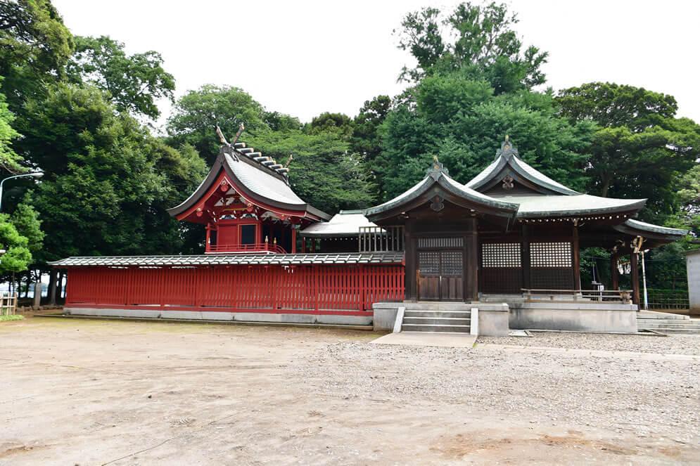 現峯ヶ岡八幡神社本殿