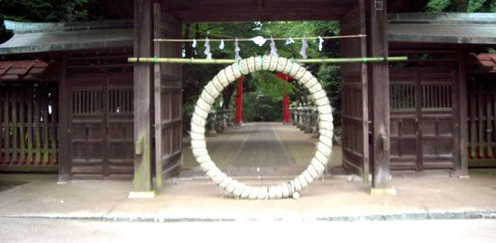 7月1日夏越の大祓